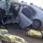 تحطم بلاط ممر جامعة حائل تحت عجلات سيارة الدفاع المدني