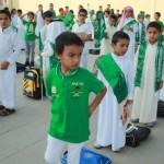 بالصور : فعاليات وطنية وتربوية تميز احتفال مدارس تعليم الليث بذكرى اليوم الوطني ( 84 )