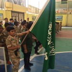 مدرسة محمد بن القاسم الابتدائية بتبوك تكرم أبناء جنودنا البواسل