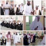 آل قاسم يرعى حفل تخريج طلاب ثانوية الملك عبدالعزيز واختتام الأنشطة
