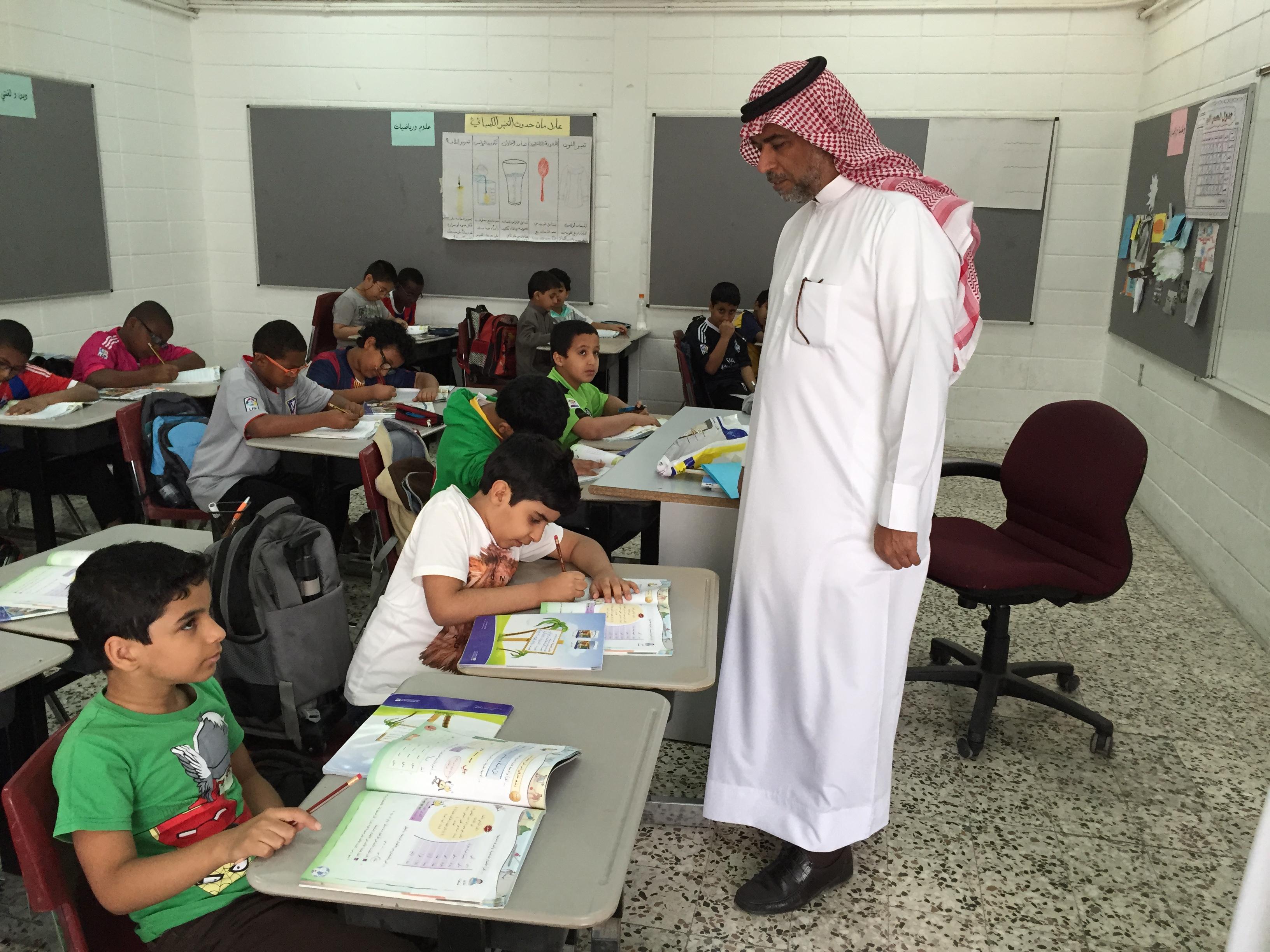 الفاروق الابتدائية تدمج تلاميذ التوحد بجوار مقاعد طلاب التعليم العام جنباً الى جنب