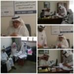 آل قاسم يكرّم لجنة توزيع الكتب الدراسية