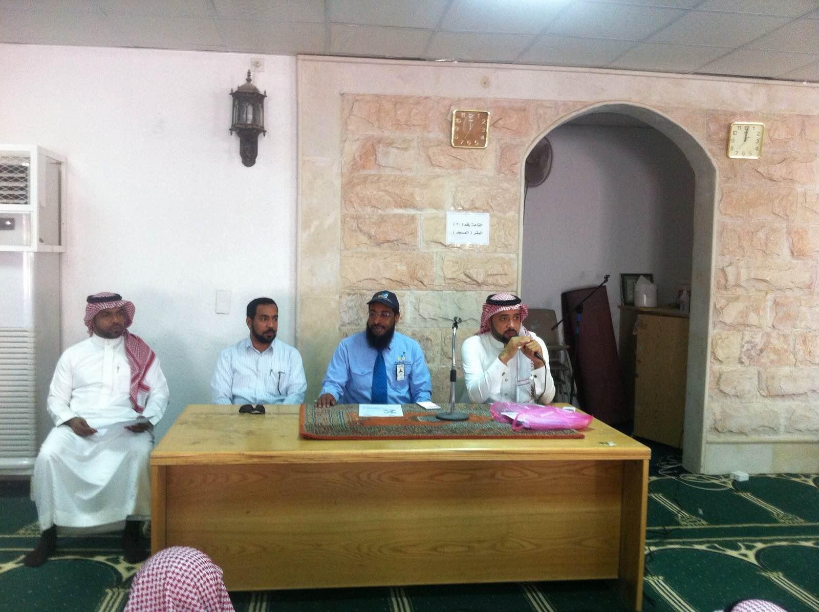 المعهد الثانوي الصناعي يقيم اللقاء التعريفي بمدرسة الملك خالد الثانوية بالهفوف