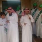 مدرسة زمزم الابتدائية تحتفي باليوم الوطني 85 وتكرم أبناء المرابطين