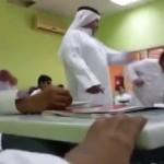 فيديو لمعلم يضرب طالبًا بالمرحلة الابتدائية داخل الفصل