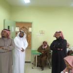 المتوسطة السعودية بمحافظة جدة تقيم مباراة ودية بين المعلمين وأولياء أمور الطلاب