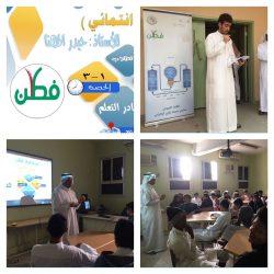 150 طالب بثانوية المنذر بن الزبير في دورة المهارات الإعلامية الناقدة