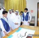 """تعليم الطائف يكرم الطالب """"الزيادي""""ووالده بعد حصوله على المركز الأول على منطقة مكة"""
