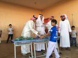 المدرسة السعودية الابتدائية بتبوك تكرم أبناء حماة الوطن المرابطين على الحد الجنوبي
