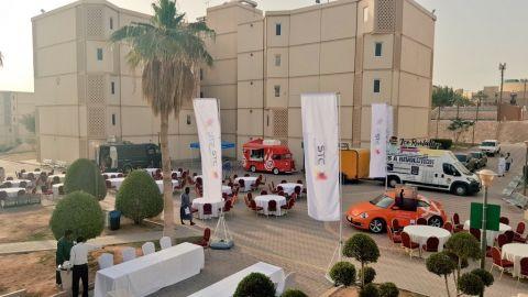 """فعالية """" كلاسيكو العالم """"  في بإسكان جامعة الملك سعود برعاية شركة الاتصالات"""