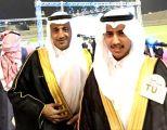 """أسرة """"الكحيلي"""" يتلقون التهاني بمناسبة تخرج ابنيهما من جامعة الطائف"""