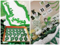 مدارس تعليم الكبيرات بالدمام تحتفل باليوم الوطني الـ88