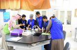 """""""أرامكو"""" تثري تجارب طلاب الجوف في العلوم"""