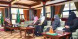 أمير منطقة تبوك .. يستقبل رئيس و أعضاء هيئة التدريس بجامعة تبوك الذين تبنت مجموعة العشرين بحوثهم العلمية
